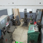 Machine shop area
