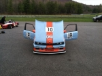 Testing April 23rd at Lime Rock Park- the new engine was running great.