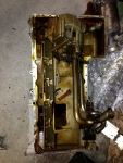 Factory Oil pump- removed along with the pan